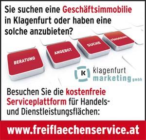 Sie suchen eine Geschäftsimmobilie in Klagenfurt oder haben eine solche anzubieten?